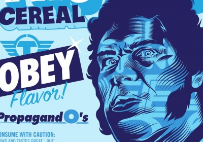 TrustoCorp Obey Fairey cereal AM 01