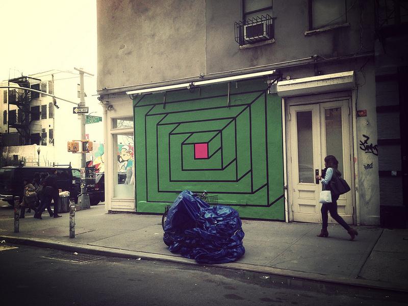 Aakash Nihalani in New York. Photo by Jake Dobkin.