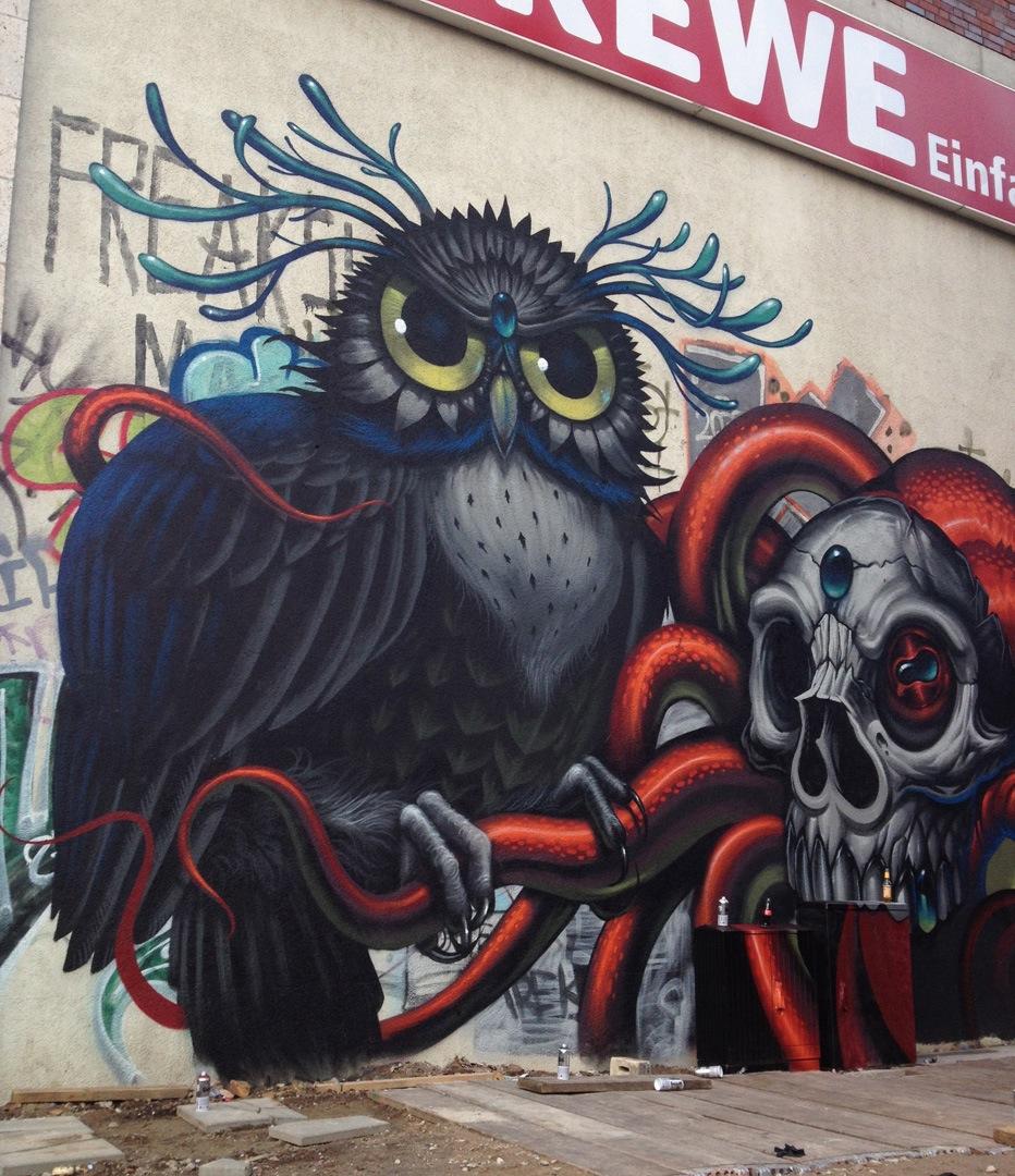 Streets: Jeff Soto & Maxx242 (Berlin) - Part II « Arrested