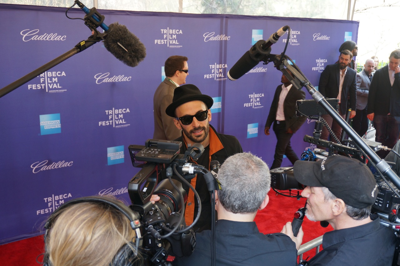 JR Inside Out TRIBECA FILM FESTIVAL AM 1