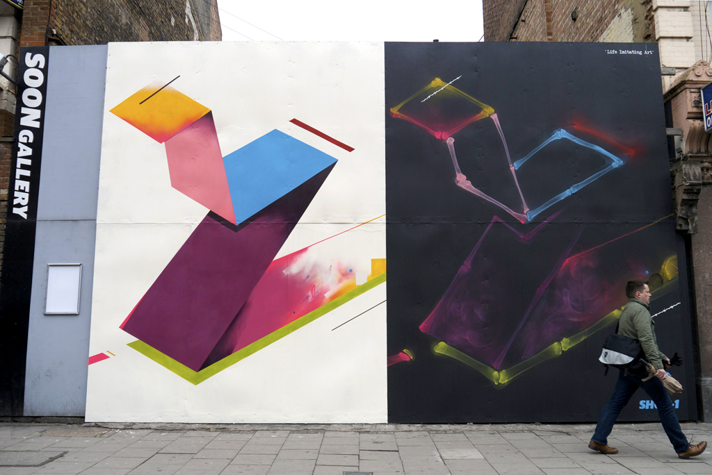 Remi Rough and Shok-1 in London.