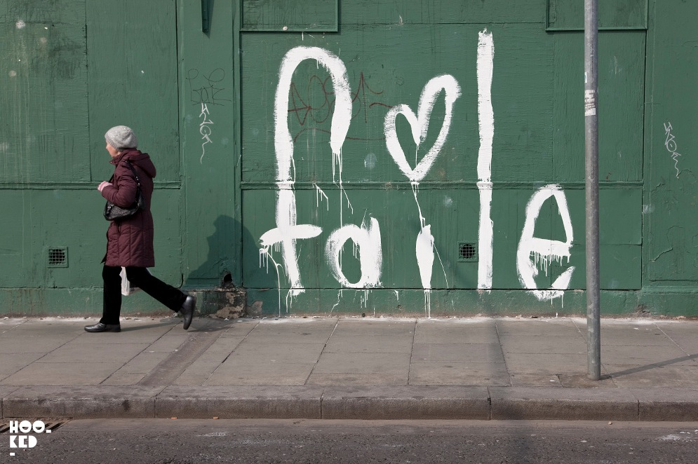 Faile in Dublin, Ireland. Photo via Hooked Blog.
