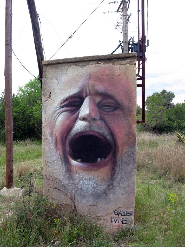 Gaser in Spain. Photo via Street Art Utopia.