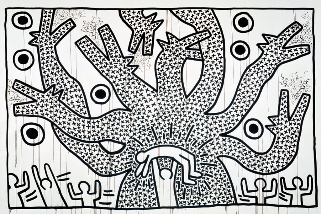 keith-haring-the-political-line-retrospective-exhibition-mam-paris-4