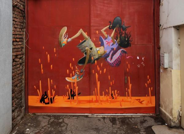 AL in Sofia, Bulgaria. Photo via Graffart.