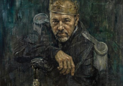 Jonathan Yeo's portrait of Kevin Spacey as Richard III.