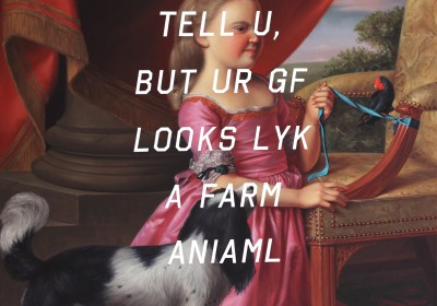 Shawn Huckins_Young Girl With Dog and Bird, Farm Animal
