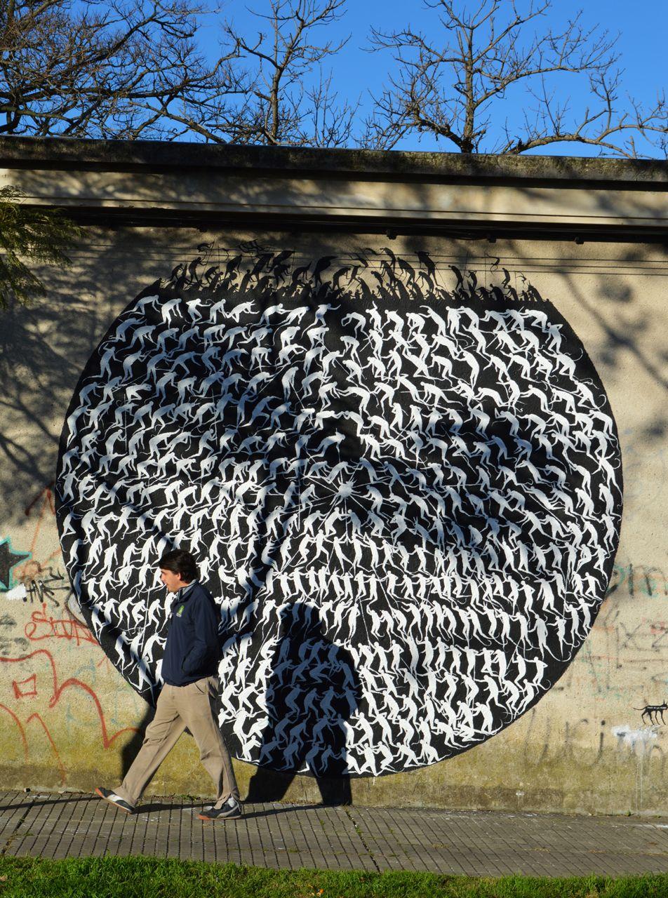 """David de la Mano - """"Frontera"""" in Montevideo, Uruguay."""