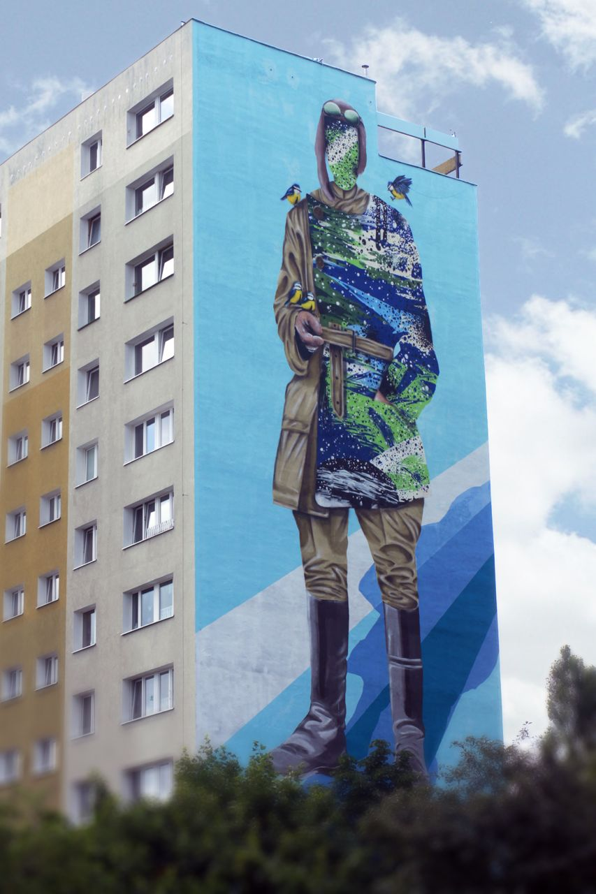 Shai Dahan for the Monumental Art Festival in Poland.