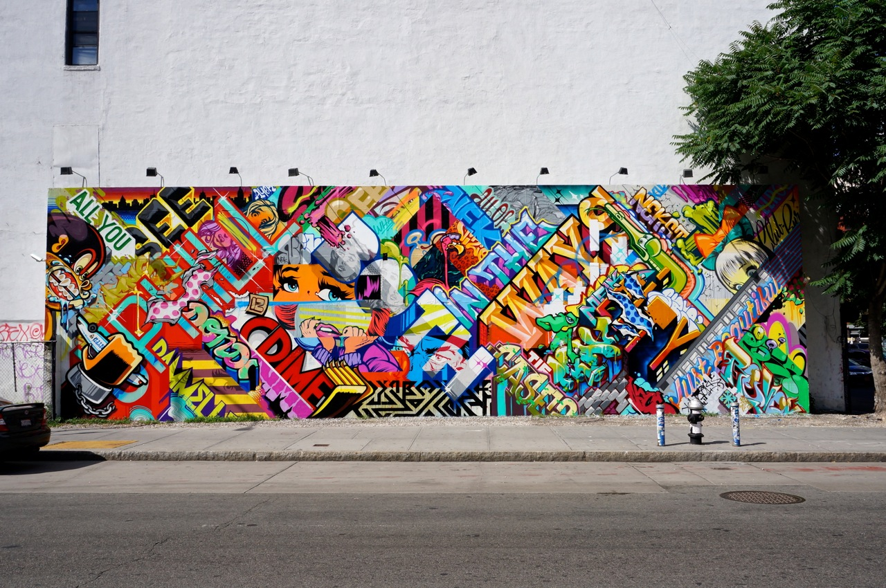 bowery houston mural arrested motion streets revok x pose on bowery houston part ii