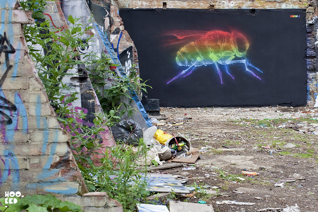 Shok-1 in London. Photo by Hooked Blog.