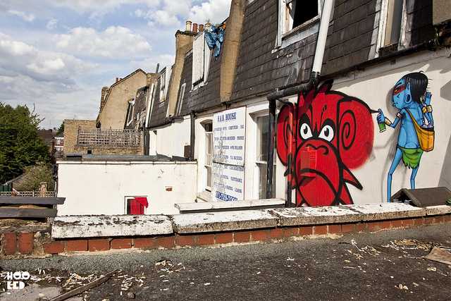 Cranio x Mighty Mo in London. Photo by Hooked Blog.