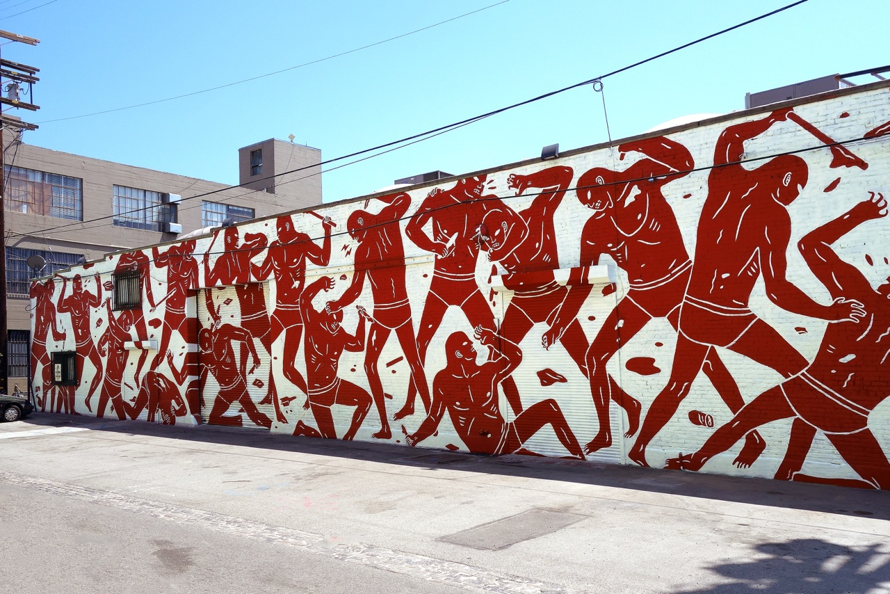 Cleon Peterson LA mural AM 06