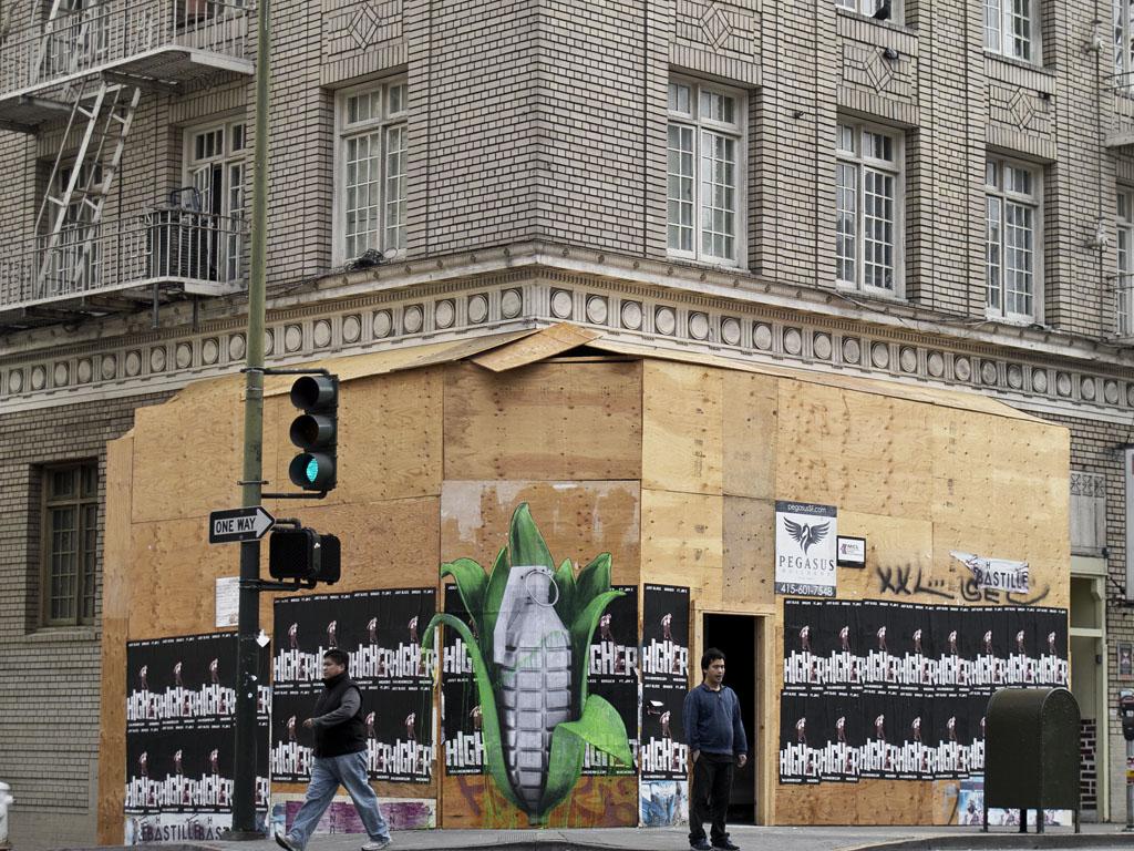 lezarts urbains street art ludo les rues de san francisco. Black Bedroom Furniture Sets. Home Design Ideas