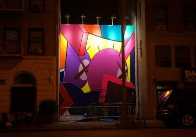 KAWS BAM Mural AM 3