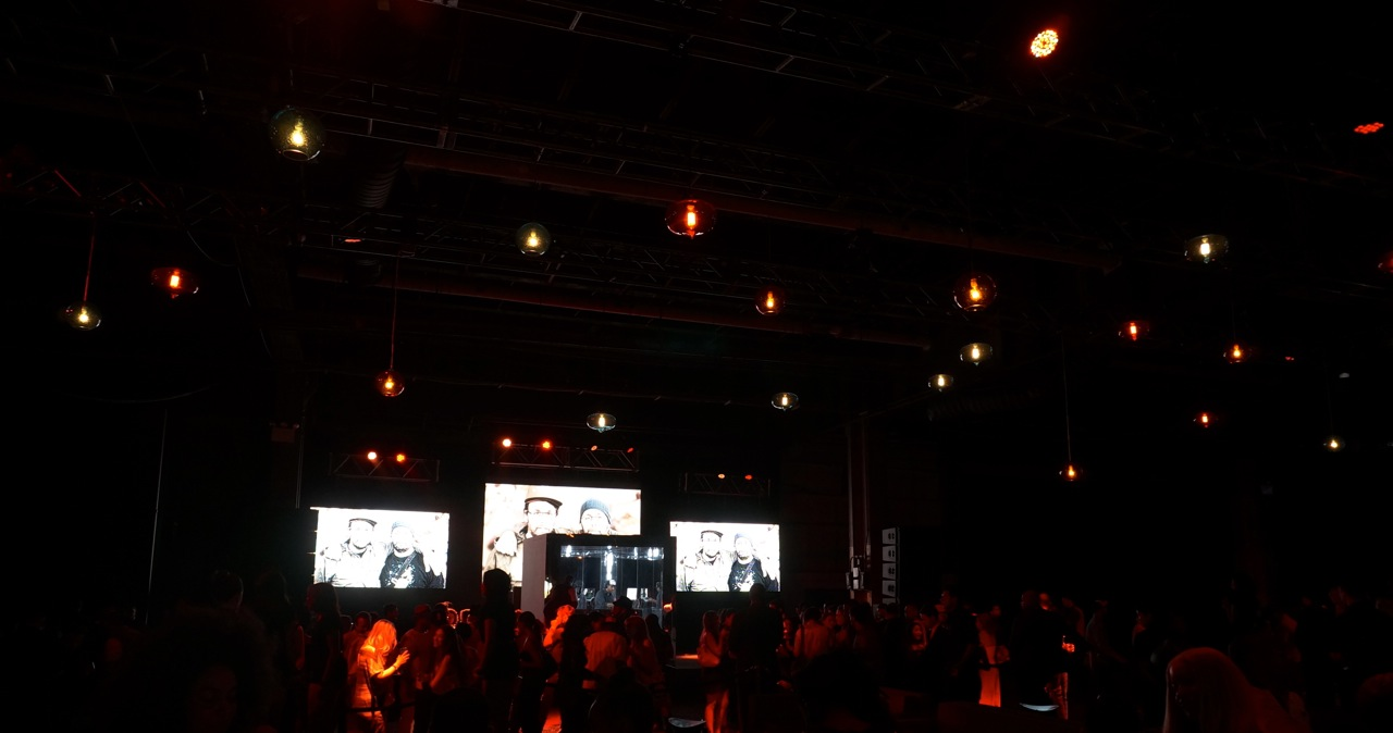 Osgemeos Hennessy VS bottle Launch Party AM 501