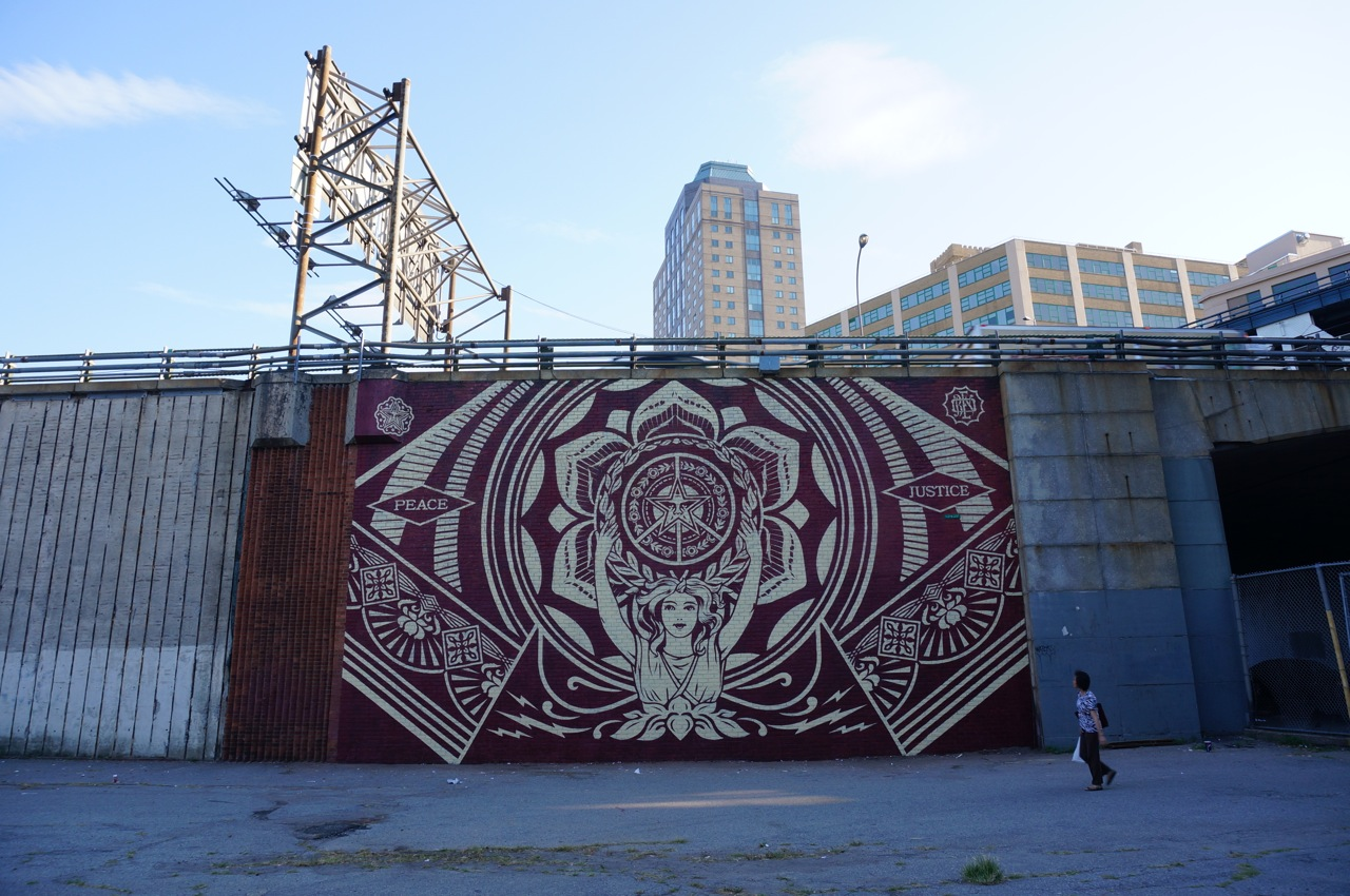Wooster Collective Dumbo murals AM 01