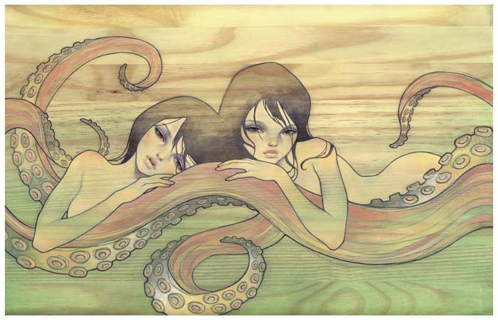 Animal,Animals,Anime,Art,Audrei,Audrey kawasaki - inspiring picture on