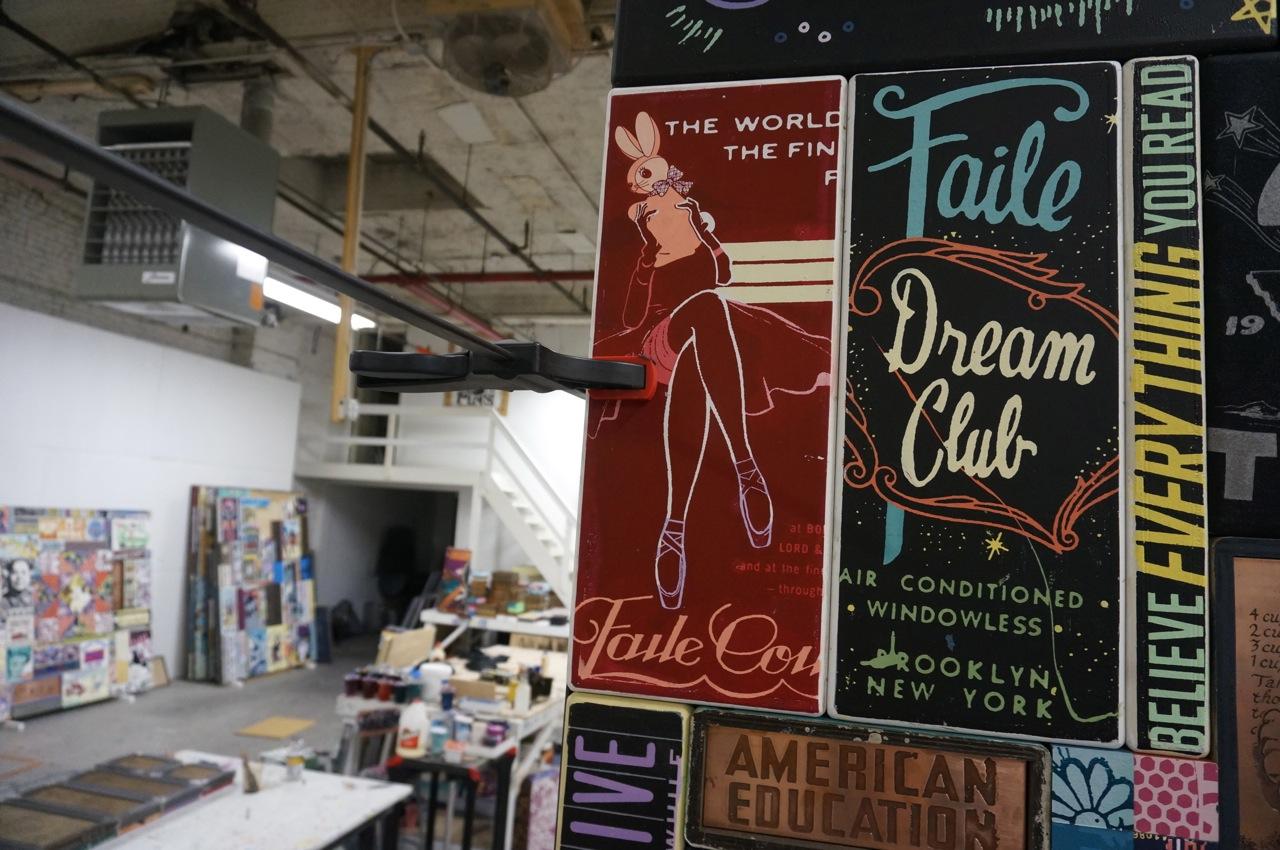 Faile Studio visit Dallas Contemporary AM 01