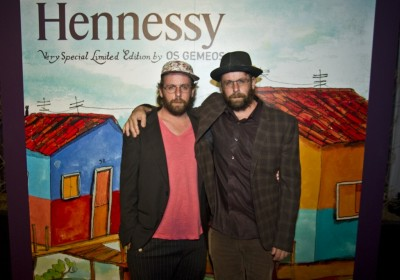 Hennessy VS bottle Os Gemeos Los Angeles launch AM 02