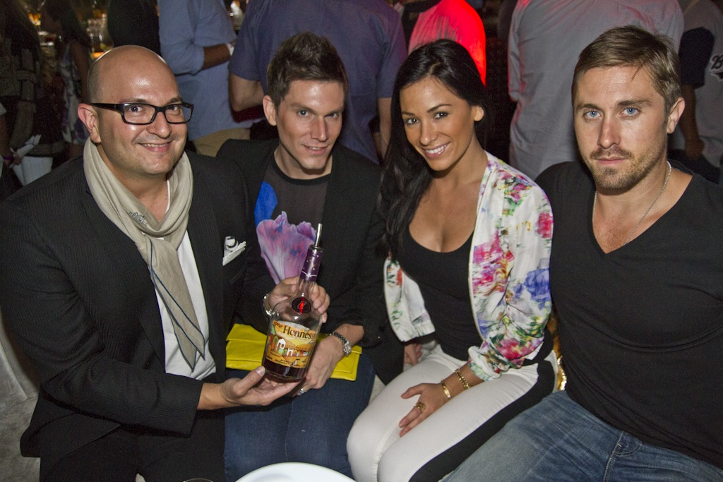 Hennessy VS bottle Os Gemeos Los Angeles launch AM 01