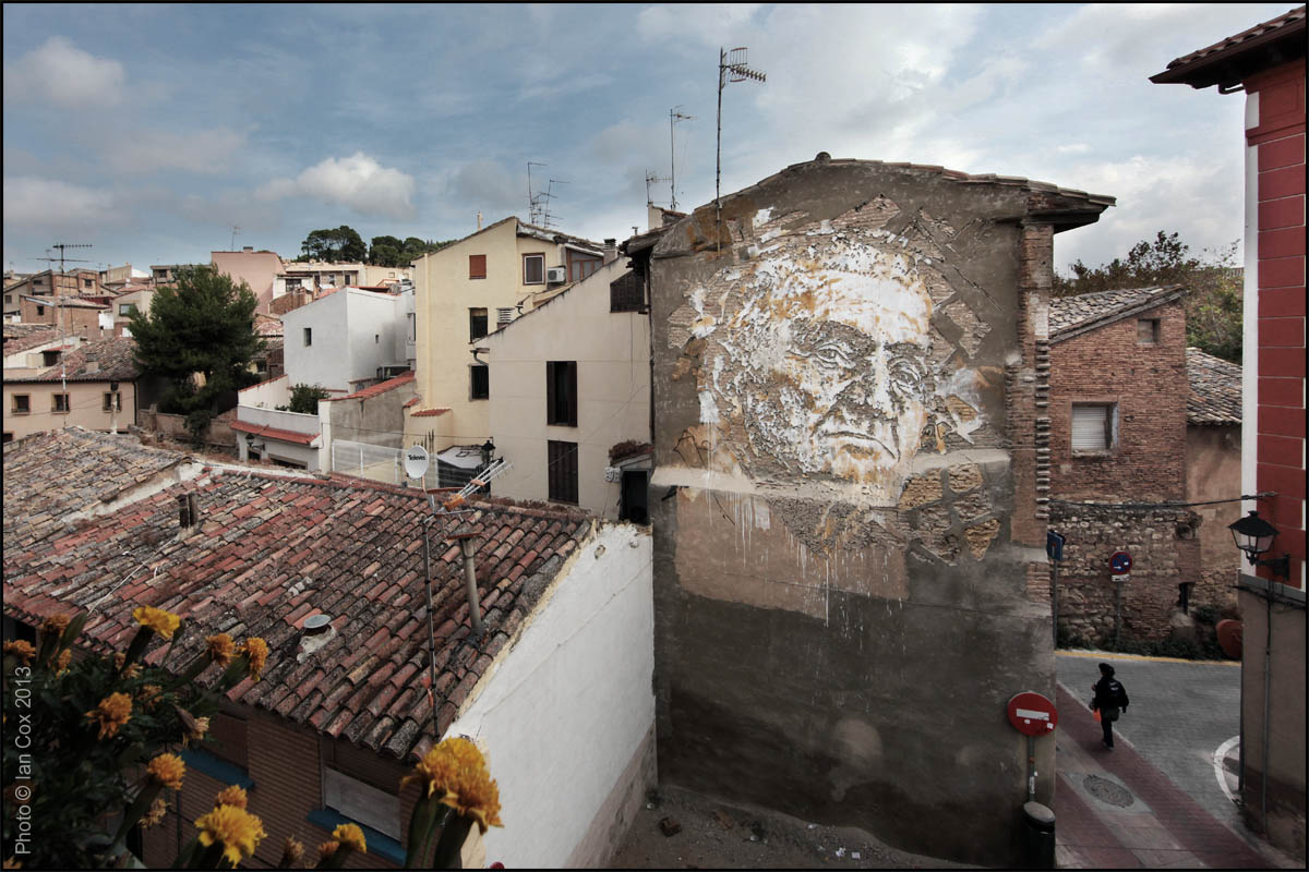 Tudela Spain  City pictures : Streets: Vhils for Avant Garde Urbano Spain « Arrested Motion