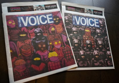 Banksy Osgemeos Village Voice AM 01