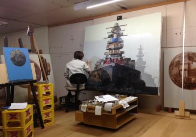 Masakatsu Sashie Studio Levine AM 03