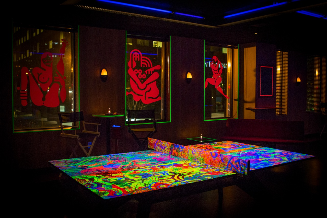 Ryan Mcginness X Spin Standard Glow Pong Table 171 Arrested