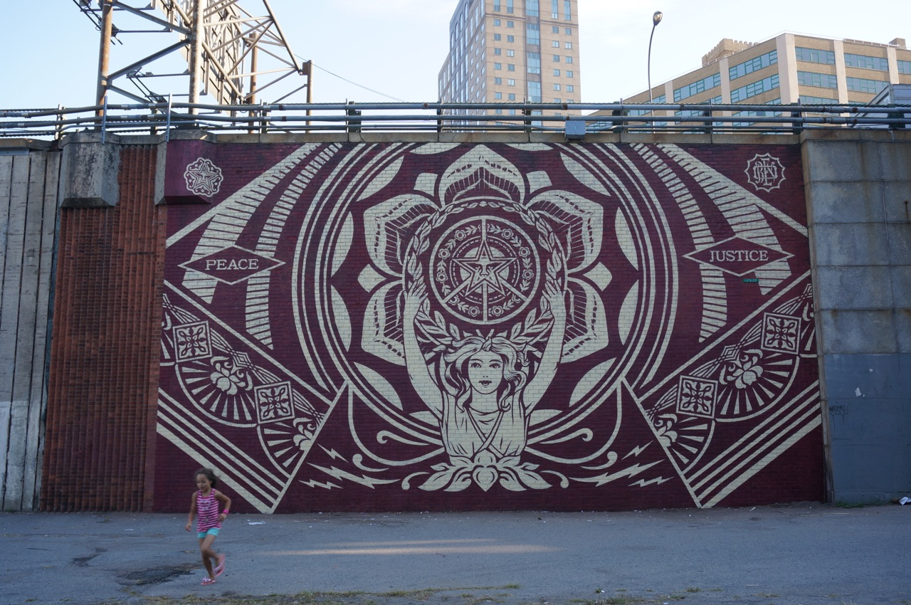 Shepard Fairey NYC streets 13 AM 21