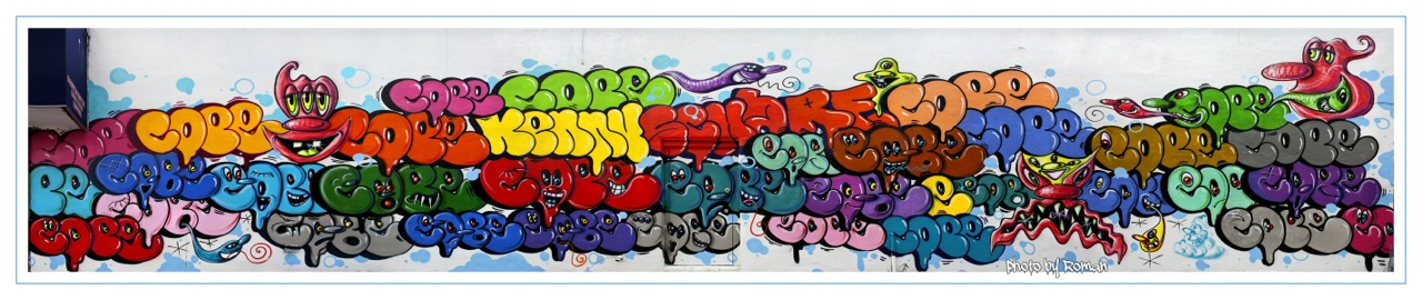 Kenny Scharf Cope Mural Bronx AM 03