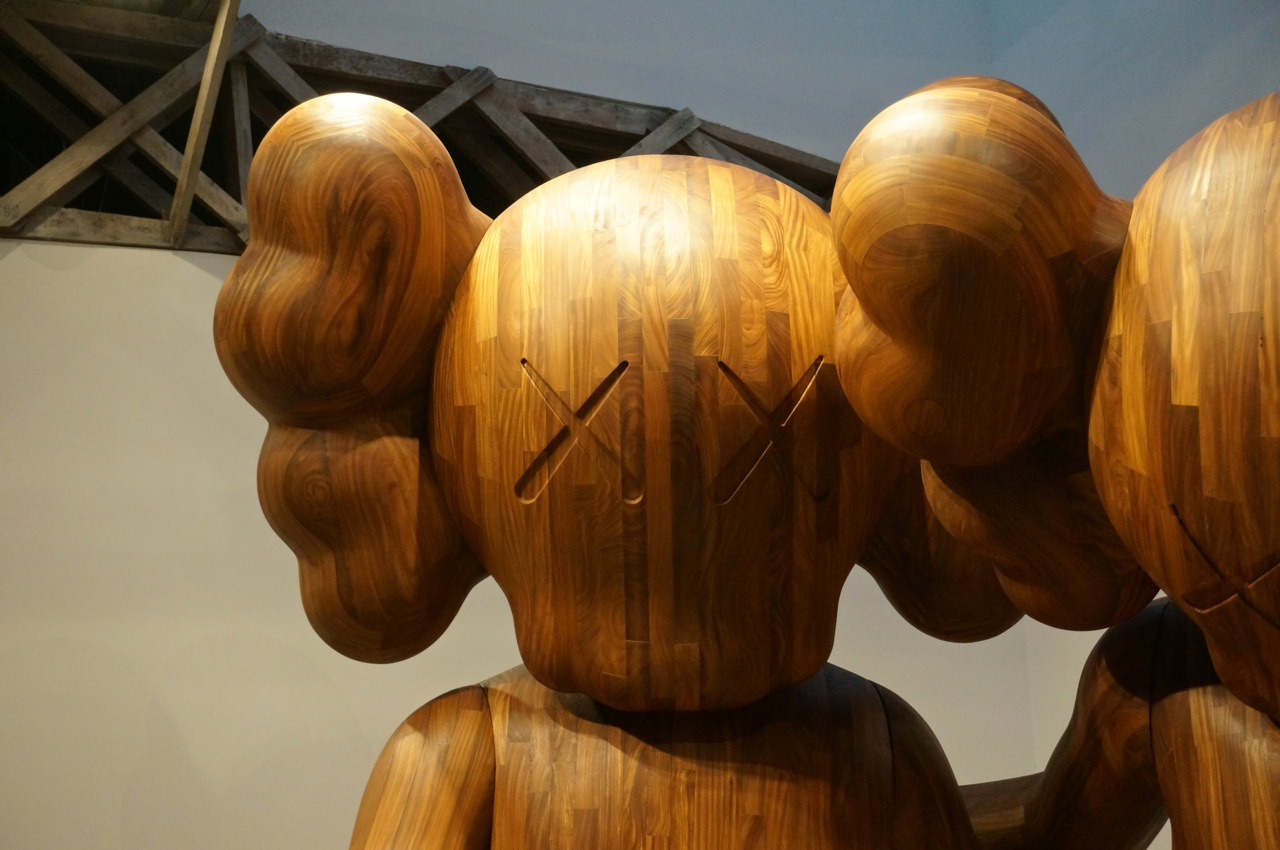 KAWS Mary Boone Wooden Companion AM 601