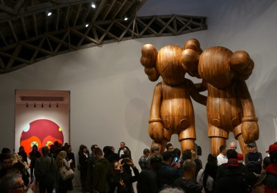 KAWS Mary Boone Wooden Companion AM 310