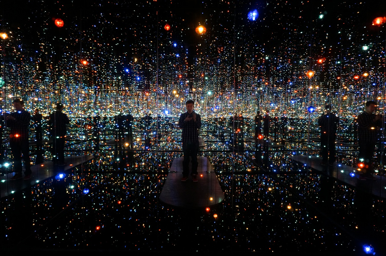 Showing Yayoi Kusama I Who Have Arrived In Heaven
