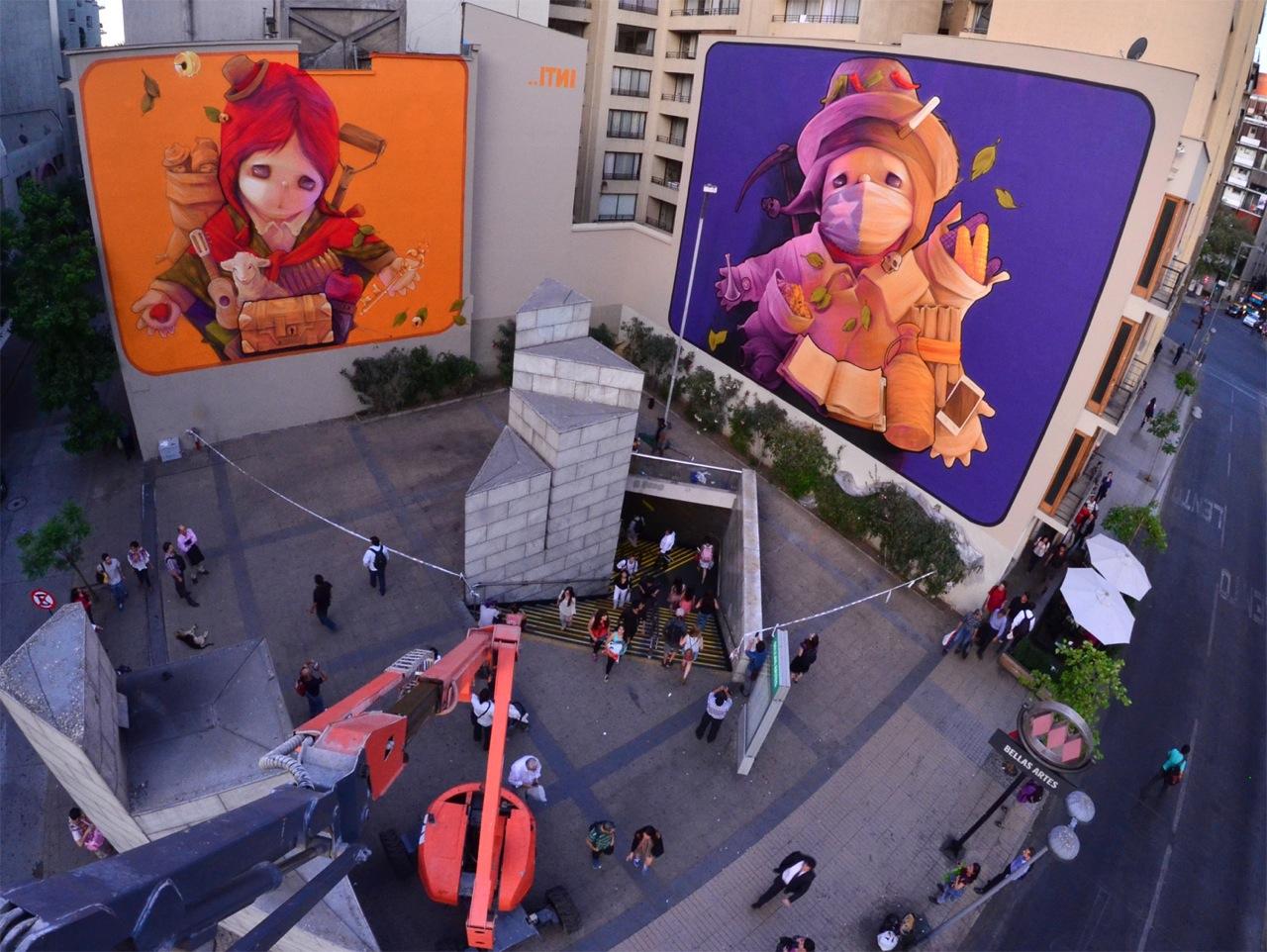 """Inti in Santiago, Chile for Festival """"Hecho En Casa."""""""