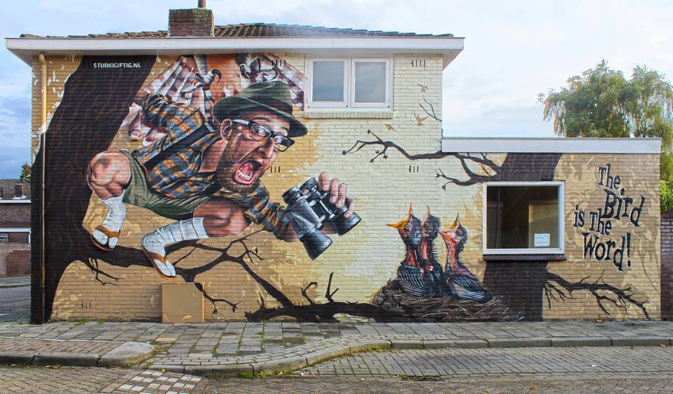 Studio Giftig in Eindhoven, Netherlands. Photo via Graffart.