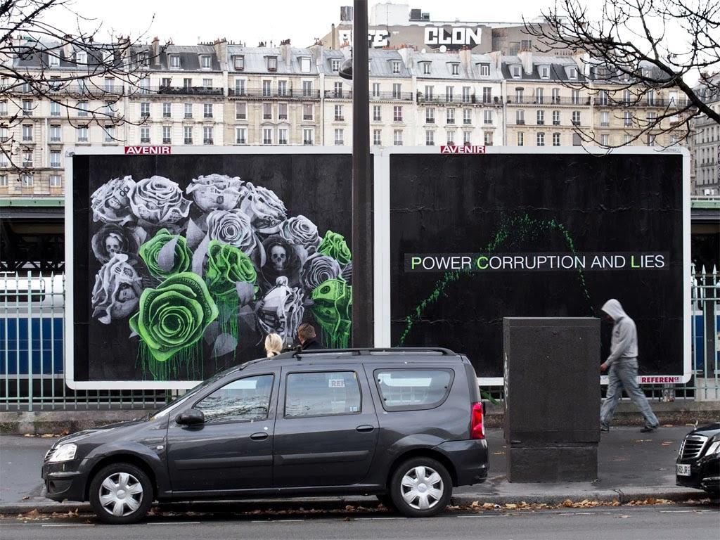 Ludo in Paris (via Public Ad Campaign).