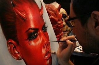 Process pic DEVIL IN ALL OF US:Viveros