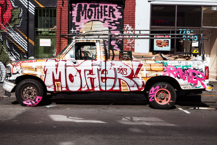 Word to Mother in San Francisco. Photo by Brock Brake via Brooklyn Street Art.