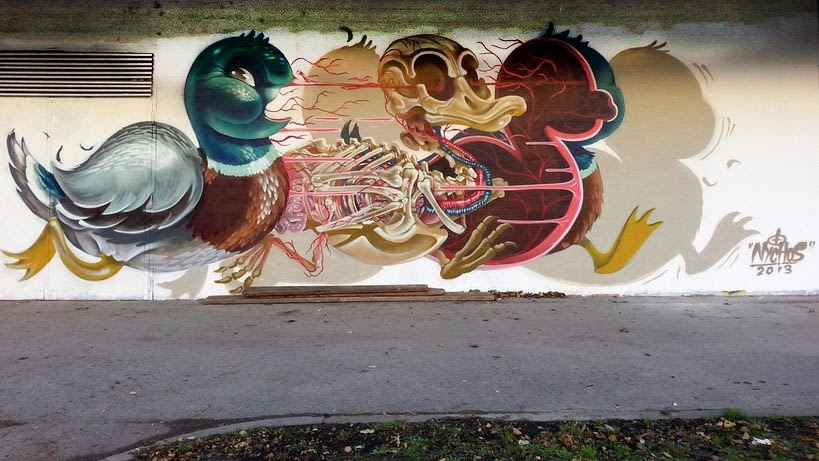 Nychos in Vienna. Photo via StreetArtNews.