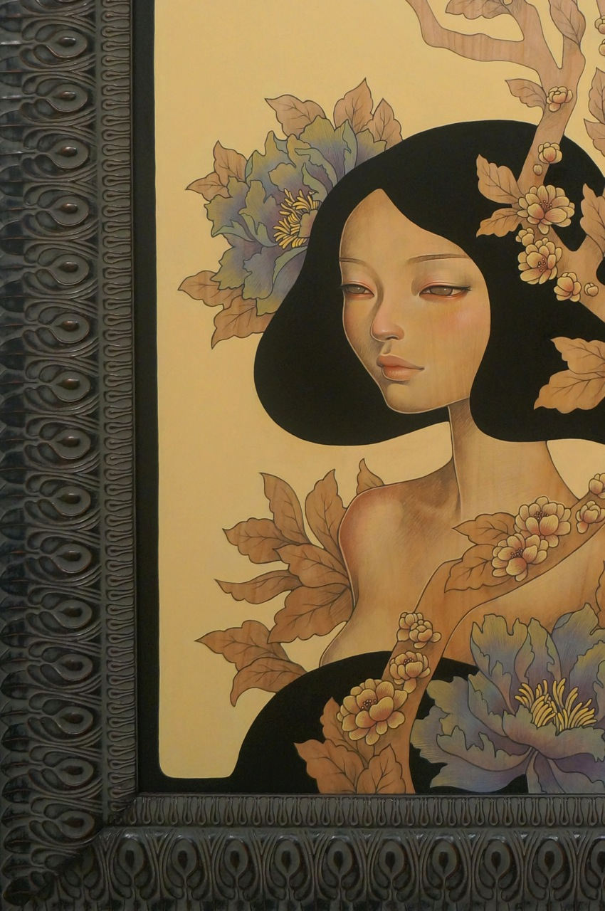 Audrey Kawasaki Basel Miami Thinkspace Scope AM 12