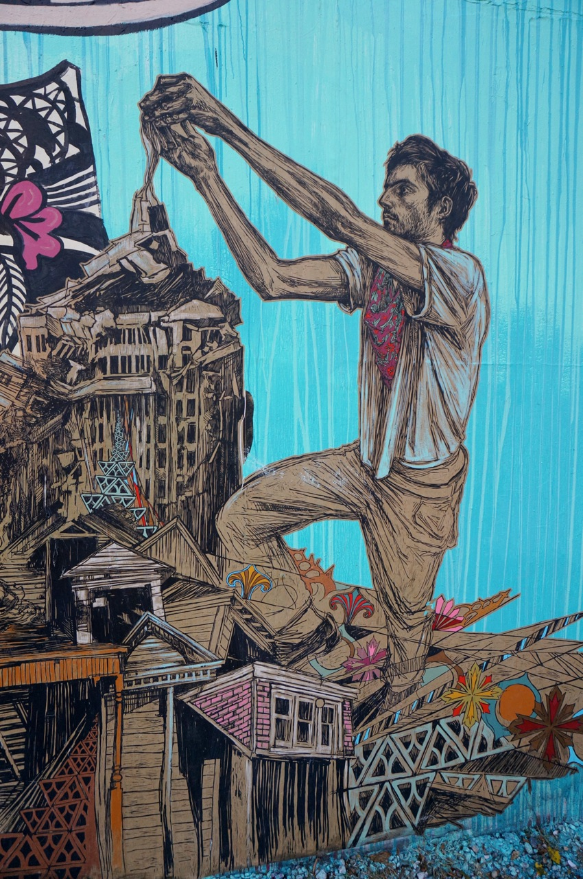 Swoon Bowery Houston Mural AM 12