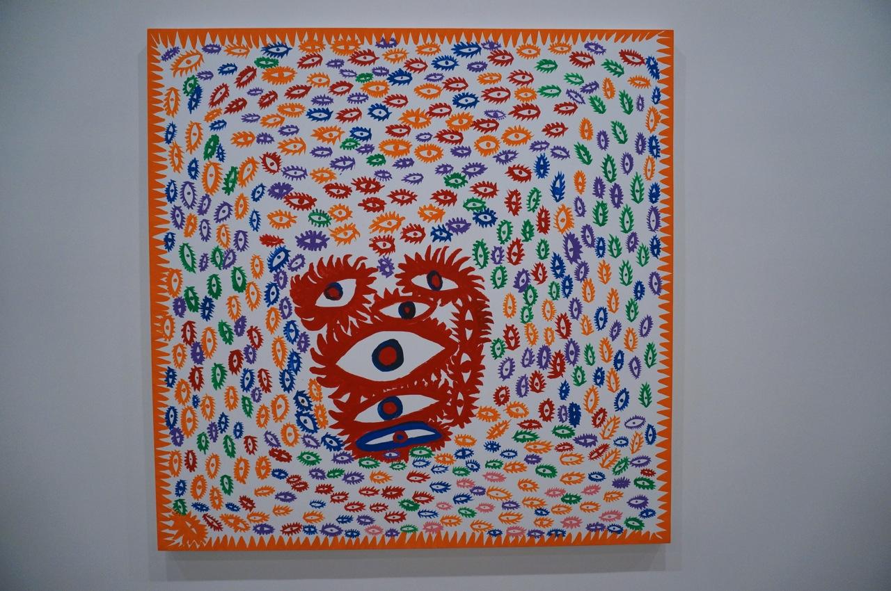 Yayoi Kusama Zwirner Paintings AM 216