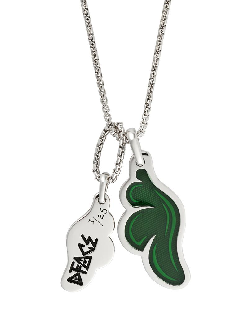 DFace-Dog-Tag-Green