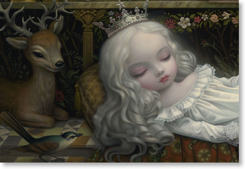 "Releases: Mark Ryden – ""Awakening The Moon"" Print « Arrested ..."
