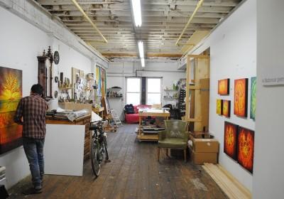 Beau Stanton Studio visit corey Helford AM 02