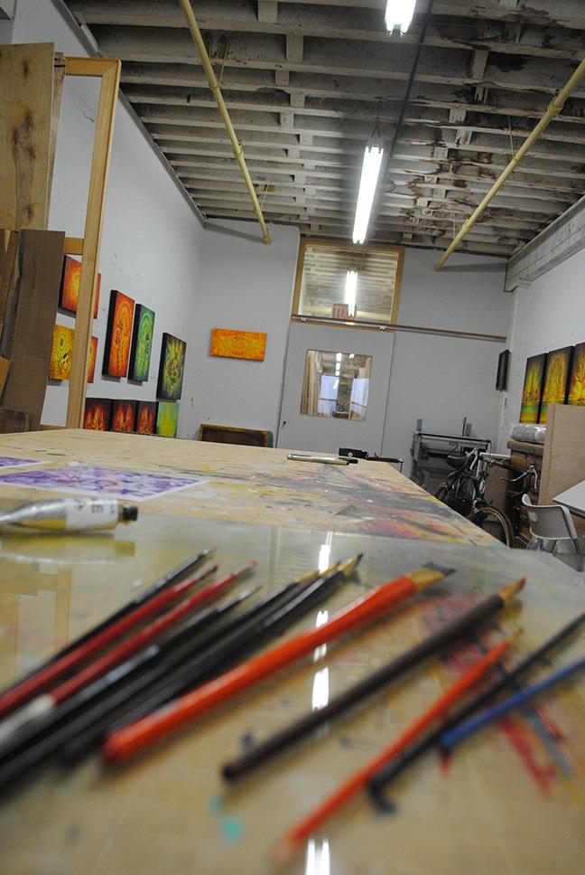Beau Stanton Studio visit corey Helford AM 07