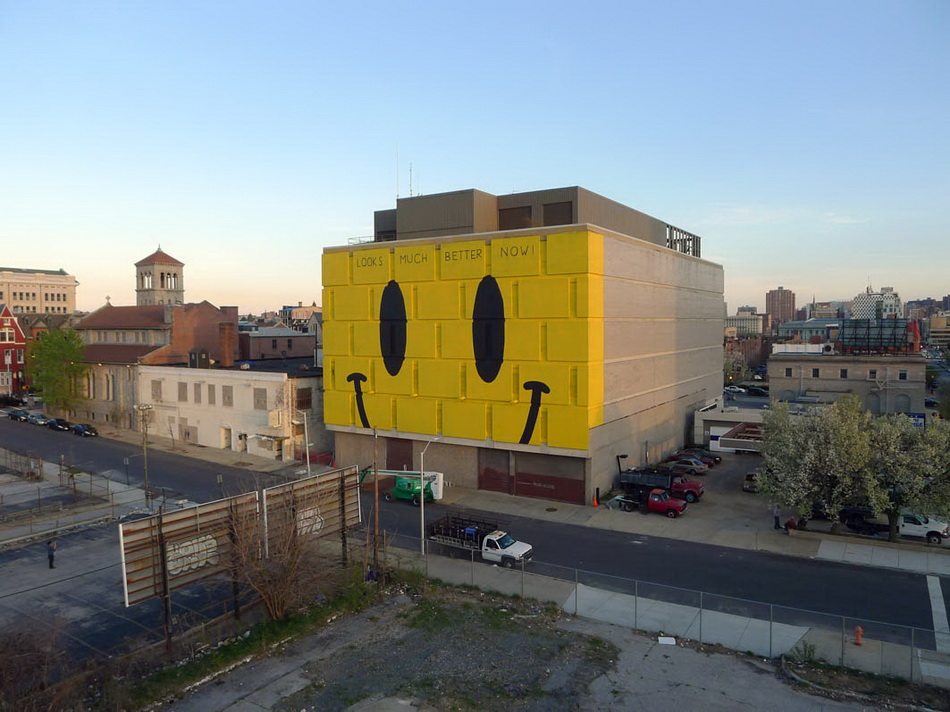 "Escif - ""Looks Much Better Now"" in Baltimore, US."
