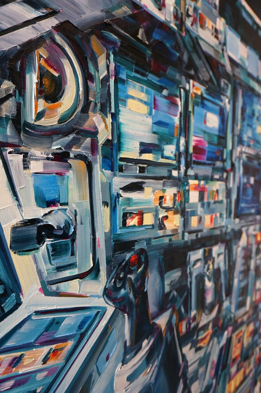 Michael Kagan Studio Visit Joshua Liner AM 28