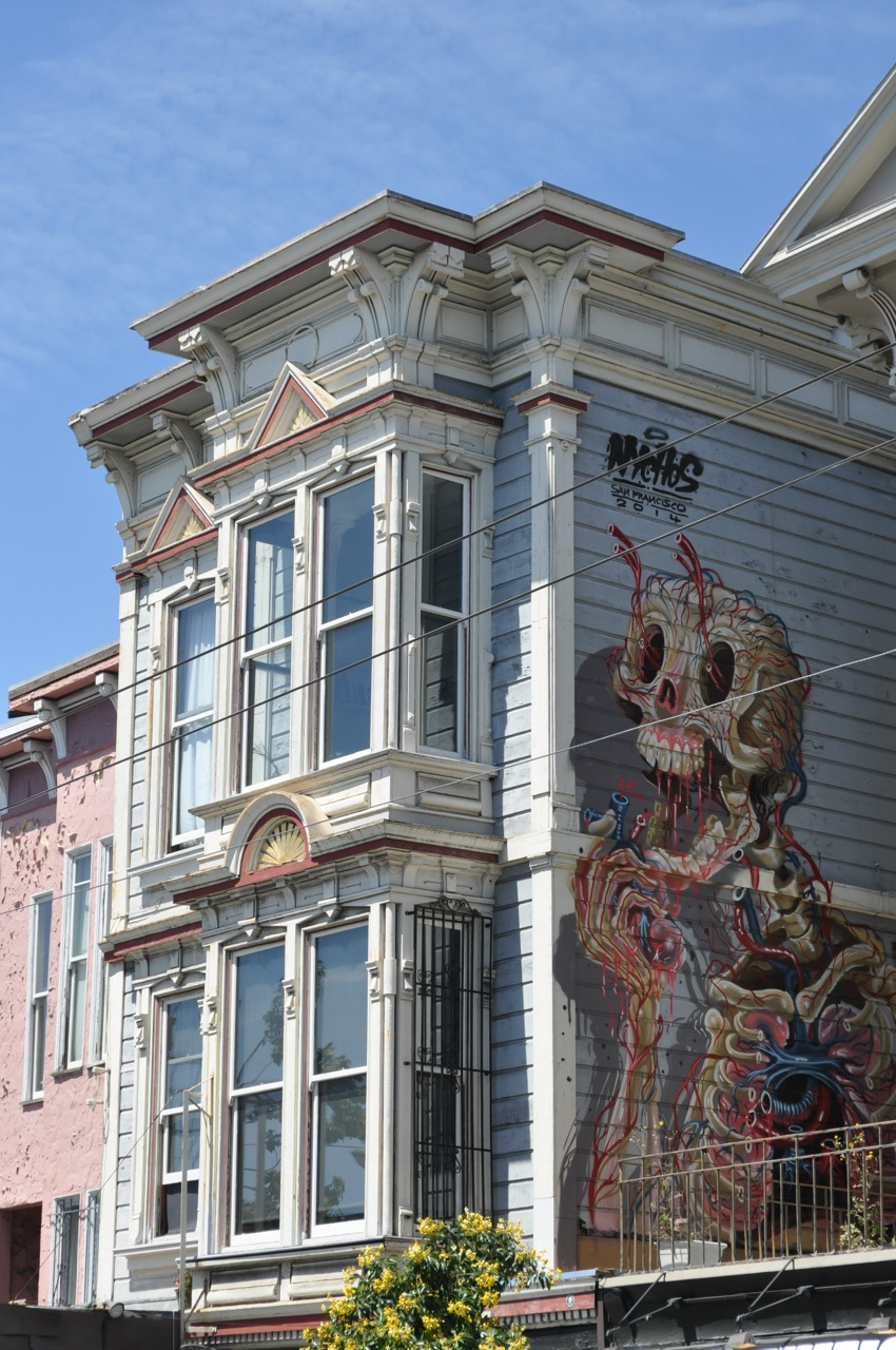 Nychos in San Francisco. Photo via Upper Playground.